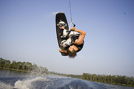 wake board towers